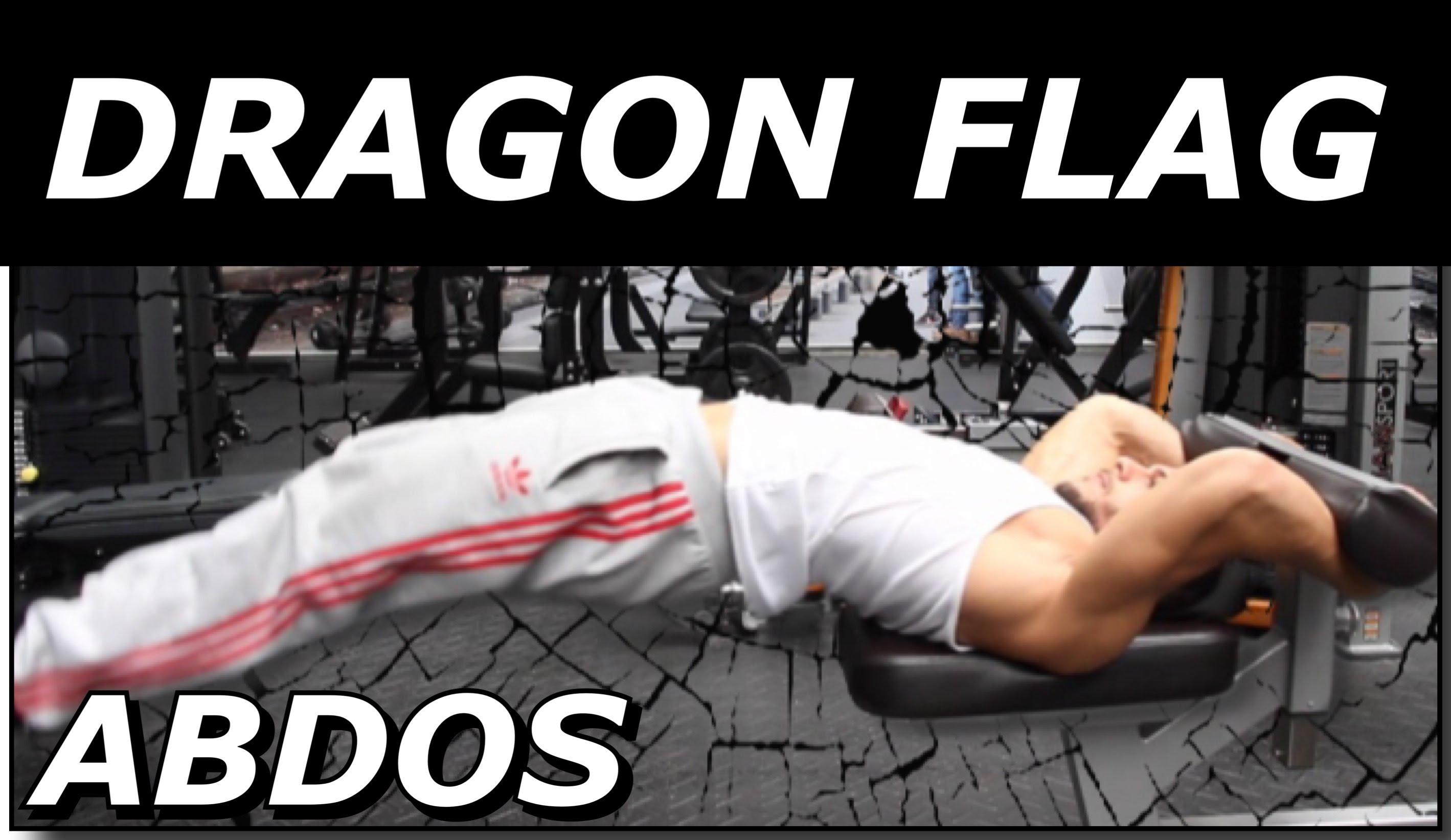 Le Dragon Flag, l'un des meilleurs exercices abdominaux