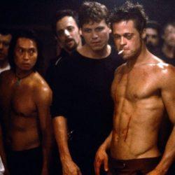 Brad Pitt était très sec dans le film Fight Club
