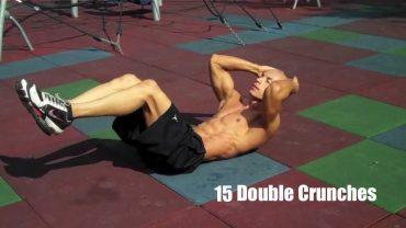 Les Crunchs sont un exercice efficace, mais il ne suffise pas à avoir des abdos visibles !