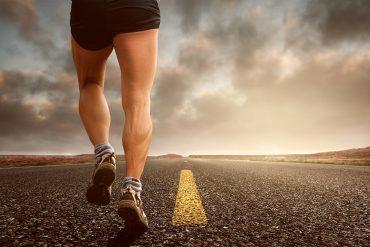 foulée en running